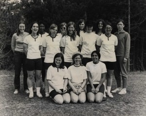 SCCC Womens Basketball Team 1972